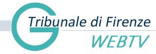 Tribunale di Firenze Webtv